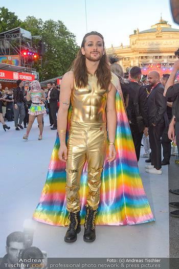 Lifeball red carpet - Rathaus Wien - Sa 08.06.2019 - Riccardo SIMONETTI43