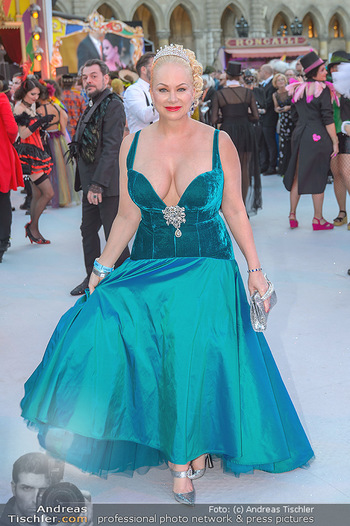 Lifeball red carpet - Rathaus Wien - Sa 08.06.2019 - Shawne FIELDING67