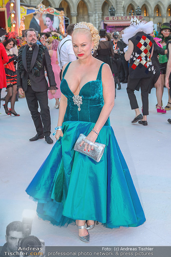 Lifeball red carpet - Rathaus Wien - Sa 08.06.2019 - Shawne FIELDING68
