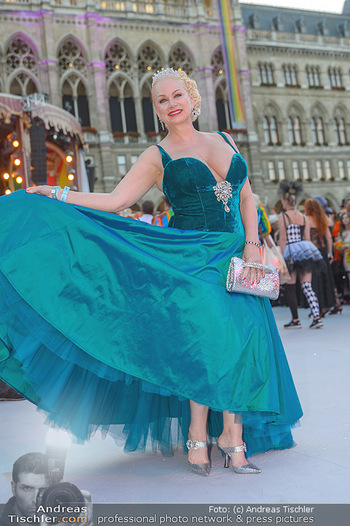 Lifeball red carpet - Rathaus Wien - Sa 08.06.2019 - Shawne FIELDING69