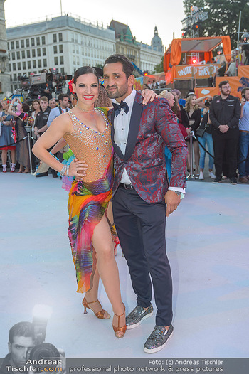 Lifeball red carpet - Rathaus Wien - Sa 08.06.2019 - Conny KREUTER, Fadi MERZA71