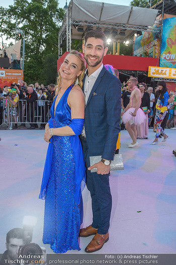 Lifeball red carpet - Rathaus Wien - Sa 08.06.2019 - Nicole WESNER, Dimitar STEFANIN78