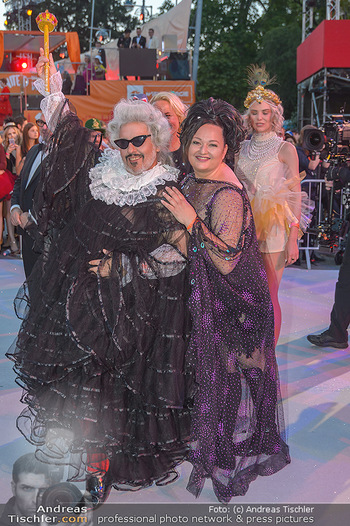 Lifeball red carpet - Rathaus Wien - Sa 08.06.2019 - Mario SOLDO, Tini KAINRATH89