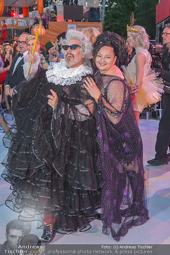 Lifeball red carpet - Rathaus Wien - Sa 08.06.2019 - Mario SOLDO, Tini KAINRATH90