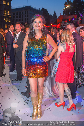 Lifeball red carpet - Rathaus Wien - Sa 08.06.2019 - Uli SIMA136