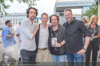 Buchpräsentation Gilzer Trischler - Cafe Westend, Wien - Di 11.06.2019 - Josef WINKLER, Clemens TRISCHLER, Nikolaus WUSSOW-FORTELL, Olive38