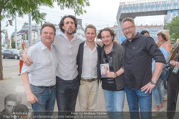 Buchpräsentation Gilzer Trischler - Cafe Westend, Wien - Di 11.06.2019 - Josef WINKLER, Clemens TRISCHLER, Nikolaus WUSSOW-FORTELL, Olive39