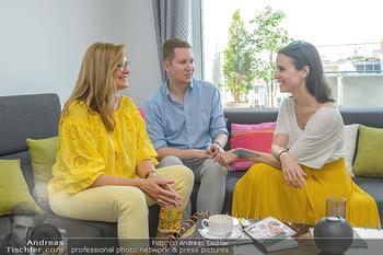 Interviewtermin Trischler Gilzer - Privatwohnung Trischler - Di 11.06.2019 - Maren GILZER, Clemens TRISCHLER, Romina COLERUS3