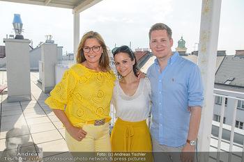 Interviewtermin Trischler Gilzer - Privatwohnung Trischler - Di 11.06.2019 - Maren GILZER, Clemens TRISCHLER, Romina COLERUS19