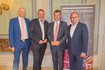 Esterhazy ORF PK - Schloss Esterhazy, Eisenstadt - Mi 12.06.2019 - Alexander WRABETZ, Stefan OTTRUBAY, Peter SCHÖBER, Hans Peter D30