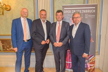 Esterhazy ORF PK - Schloss Esterhazy, Eisenstadt - Mi 12.06.2019 - Alexander WRABETZ, Stefan OTTRUBAY, Peter SCHÖBER, Hans Peter D31
