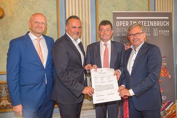 Esterhazy ORF PK - Schloss Esterhazy, Eisenstadt - Mi 12.06.2019 - Peter SCHÖBER, Alexander WRABETZ, Stefan OTTRUBAY, Hans Peter D56