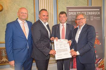 Esterhazy ORF PK - Schloss Esterhazy, Eisenstadt - Mi 12.06.2019 - Peter SCHÖBER, Alexander WRABETZ, Stefan OTTRUBAY, Hans Peter D57