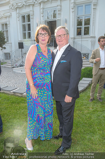 Esterhazy Künstlerfest - Palais Schönburg, Wien - Mi 12.06.2019 - Karl WESSELY mit Ehefrau4