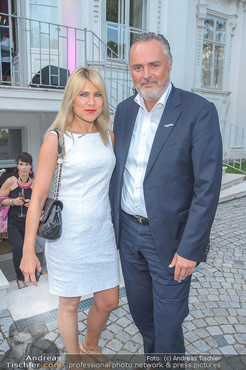 Esterhazy Künstlerfest - Palais Schönburg, Wien - Mi 12.06.2019 - Hans Peter DOSKOZIL mit Freundin Julia12