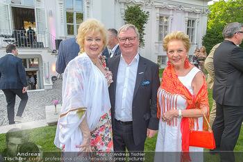 Esterhazy Künstlerfest - Palais Schönburg, Wien - Mi 12.06.2019 - Birgit SARATA, Karl WESSELY, Ingeborg SERAFIN42