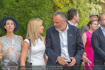 Esterhazy Künstlerfest - Palais Schönburg, Wien - Mi 12.06.2019 - Hans Peter DOSKOZIL mit Freundin Julia72