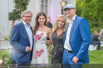 Esterhazy Künstlerfest - Palais Schönburg, Wien - Mi 12.06.2019 - Alexander WRABETZ, Lidia BAICH, Peter SCHÖBER, Leona KÖNIG127