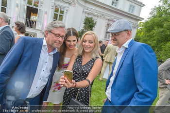 Esterhazy Künstlerfest - Palais Schönburg, Wien - Mi 12.06.2019 - Alexander WRABETZ, Lidia BAICH, Peter SCHÖBER, Leona KÖNIG128