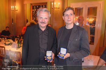Otto Schenk 89. Geburtstag - Josefstadttheater und Kammerspiele - Mi 12.06.2019 - Daniel KEHLMANN, Herbert FÖTTINGER14