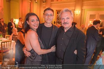 Otto Schenk 89. Geburtstag - Josefstadttheater und Kammerspiele - Mi 12.06.2019 - Familie Herbert FÖTTINGER, Sanda CERVIK mit Sohn Fabian22