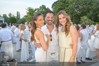 Kraml Sommerball - Kursalon Wien - Sa 15.06.2019 - Thomas KRAML mit Ehefrau Bianca, Lizz GÖRGL63