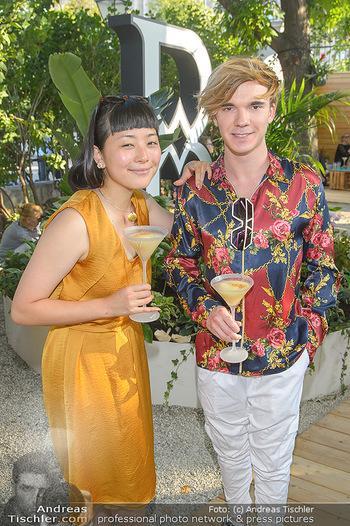 Cocktail Bar Opening - Volksgarten - Di 18.06.2019 - Yuri REVICH, Manaho SHIMOKAWA27