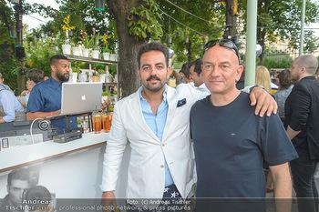 Cocktail Bar Opening - Volksgarten - Di 18.06.2019 - Ali Pasha ILKHANIPOUR, Michael Michi BÖHM (Volksgarten)143