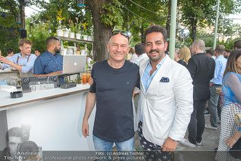 Cocktail Bar Opening - Volksgarten - Di 18.06.2019 - Ali Pasha ILKHANIPOUR, Michael Michi BÖHM (Volksgarten)144