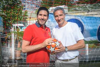 Nivea Deep Soccer Challenge - Hermann´s Strandbar, Wien - Mi 19.06.2019 - Clemens UNTERREINER, Rainer PARIASEK6
