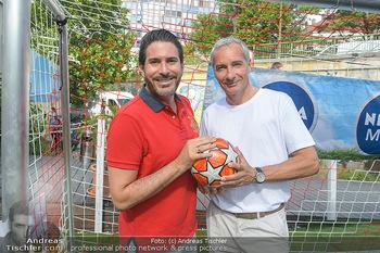 Nivea Deep Soccer Challenge - Hermann´s Strandbar, Wien - Mi 19.06.2019 - Clemens UNTERREINER, Rainer PARIASEK7