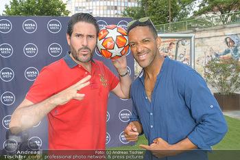 Nivea Deep Soccer Challenge - Hermann´s Strandbar, Wien - Mi 19.06.2019 - Cesar SAMPSON, Clemens UNTERREINER15