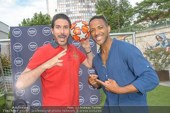 Nivea Deep Soccer Challenge - Hermann´s Strandbar, Wien - Mi 19.06.2019 - Cesar SAMPSON, Clemens UNTERREINER16