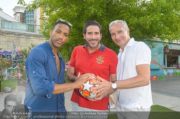 Nivea Deep Soccer Challenge - Hermann´s Strandbar, Wien - Mi 19.06.2019 - Clemens UNTERREINER, Cesar SAMPSON, Rainer PARIASEK25