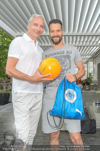 Nivea Deep Soccer Challenge - Hermann´s Strandbar, Wien - Mi 19.06.2019 - Oliver LEDERER, Rainer PARIASEK26