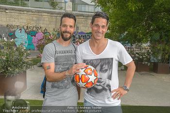 Nivea Deep Soccer Challenge - Hermann´s Strandbar, Wien - Mi 19.06.2019 - Oliver LEDERER, Helge PAYER35
