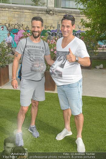 Nivea Deep Soccer Challenge - Hermann´s Strandbar, Wien - Mi 19.06.2019 - Oliver LEDERER, Helge PAYER36