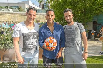 Nivea Deep Soccer Challenge - Hermann´s Strandbar, Wien - Mi 19.06.2019 - Oliver LEDERER, Helge PAYER, Cesar SAMPSON37