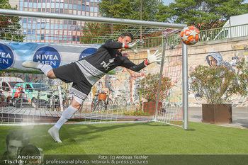 Nivea Deep Soccer Challenge - Hermann´s Strandbar, Wien - Mi 19.06.2019 - Helge PAYER Flugparade42