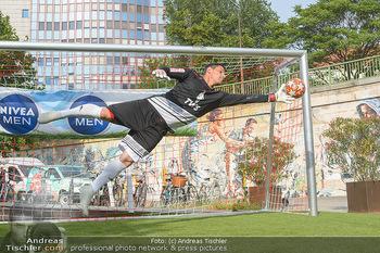 Nivea Deep Soccer Challenge - Hermann´s Strandbar, Wien - Mi 19.06.2019 - Helge PAYER Flugparade45