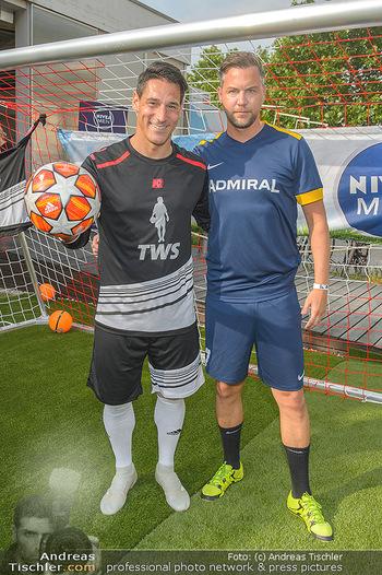 Nivea Deep Soccer Challenge - Hermann´s Strandbar, Wien - Mi 19.06.2019 - Helge PAYER, Mario FEURER51