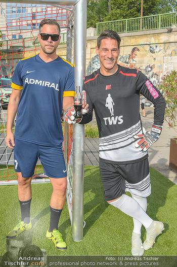 Nivea Deep Soccer Challenge - Hermann´s Strandbar, Wien - Mi 19.06.2019 - Helge PAYER, Mario FEURER52