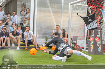 Nivea Deep Soccer Challenge - Hermann´s Strandbar, Wien - Mi 19.06.2019 - Helge PAYER Flugparade55