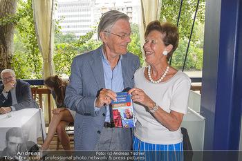 Michael Schottenberg Buchpräsentation - Summerstage, Wien - So 23.06.2019 - Milan TURKOVIC, Ingrid WENDL8