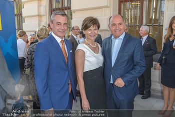 Sommerfest der RLB Oberösterreich - Albertina, Wien - Di 25.06.2019 - Heinrich SCHALLER, Michaela KEPLINGER-MITTERLEHNER, Wolfgang SOB9