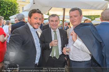 Sommerfest der RLB Oberösterreich - Albertina, Wien - Di 25.06.2019 - Rene BENKO, Toni MÖRWALD, Markus FRIESACHER32