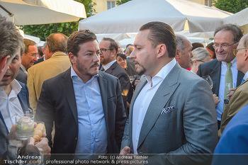 Sommerfest der RLB Oberösterreich - Albertina, Wien - Di 25.06.2019 - Rene BENKO, Klemens HALLMANN47