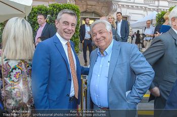 Sommerfest der RLB Oberösterreich - Albertina, Wien - Di 25.06.2019 - Heinrich SCHALLER, Wolfgang FELLNER50
