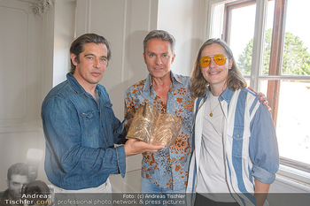 Austrian Art Award DFG - Modeschule Wien Schloss Hetzendorf - Mi 26.06.2019 - Werner SCHREYER, Alfons HAIDER, Pierre SARKOZY1