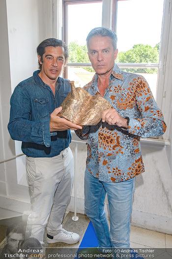 Austrian Art Award DFG - Modeschule Wien Schloss Hetzendorf - Mi 26.06.2019 - Werner SCHREYER, Alfons HAIDER2